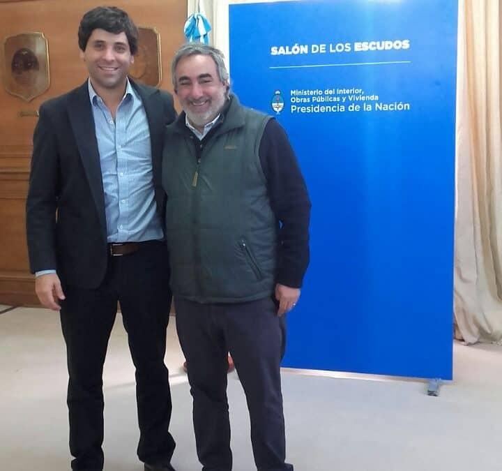 El Intendente firmó convenio con Nación por 7 millones de pesos