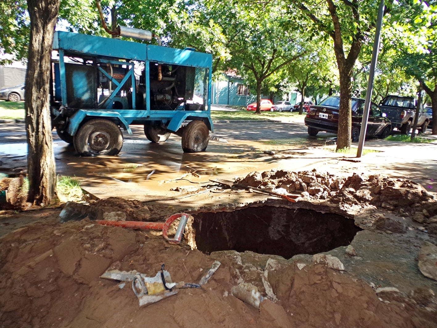 Se restableció el servicio de agua potable en la ciudad