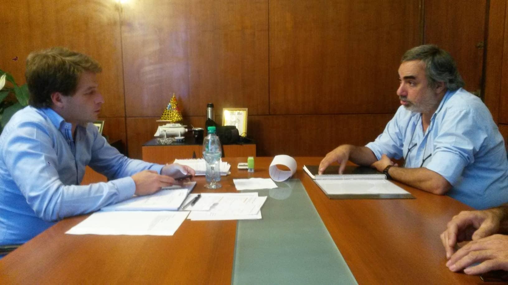 Fernández invitó a Vidal al aniversario de la ciudad