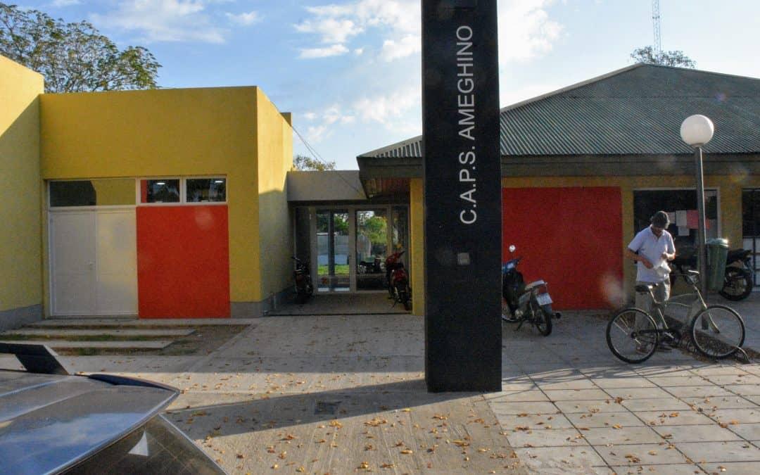 Se inaugura la ampliación del CAPS Ameghino que atiende unas 3 mil personas al mes