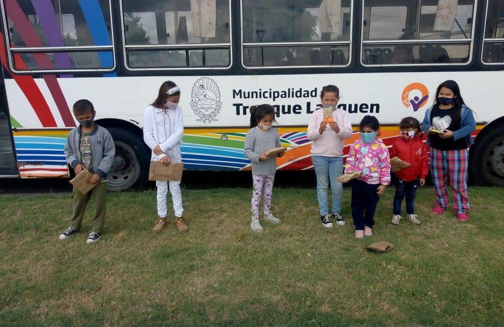 LOS REYES MAGOS PASARON POR CASA DEL NIÑO Y DEJARON REGALOS PARA TODOS LOS CHICOS Y CHICAS QUE CONCURREN A LA INSTITUCIÓN