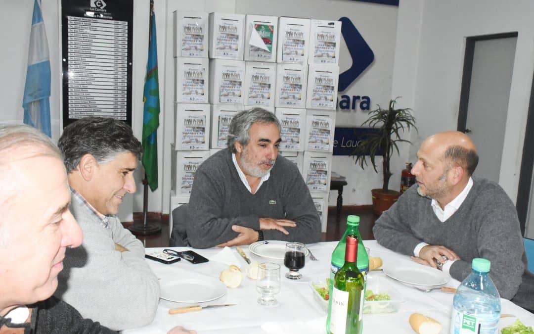 Fernández con agenda productiva: asistió a una cena de trabajo en la Cámara