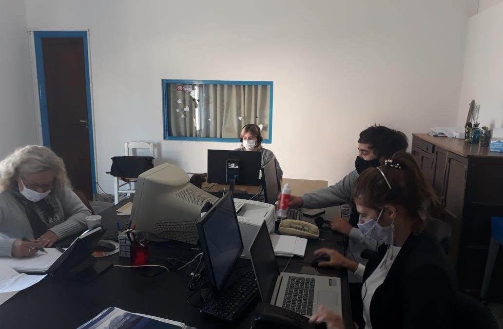 EL CENTRO DE ATENCIÓN CIUDADANA RECIBE ALREDEDOR DE 45 CONTACTOS DIARIOS ENTRE LOS LLAMADOS AL TELÉFONO  147 Y LA PÁGINA WEB MUNICIPAL