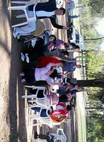 Almuerzo en el Parque