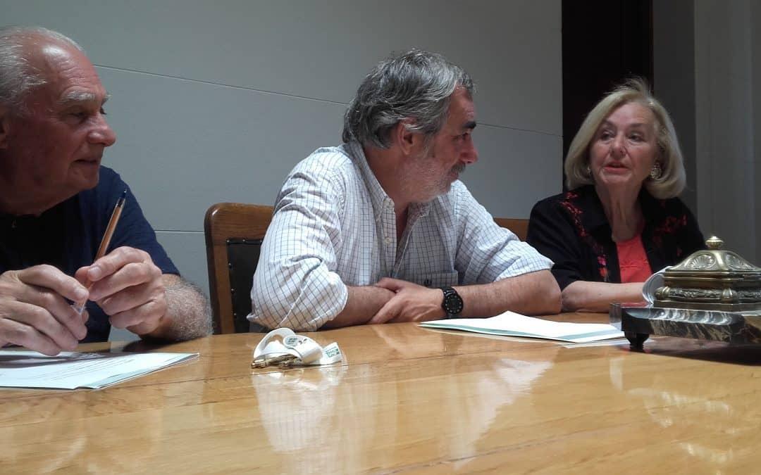 El Municipio le otorgó un espacio al Centro de Escritores Domingo Cicoria en el Sum Cuello – Foster