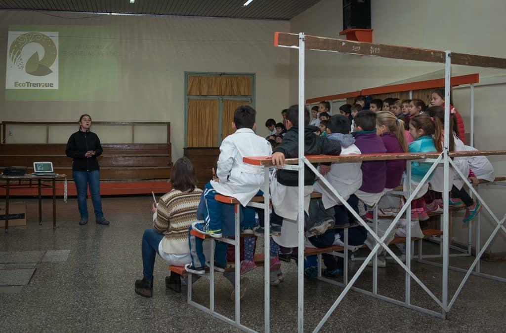 Continúan las charlas del Programa Escuelas Verdes