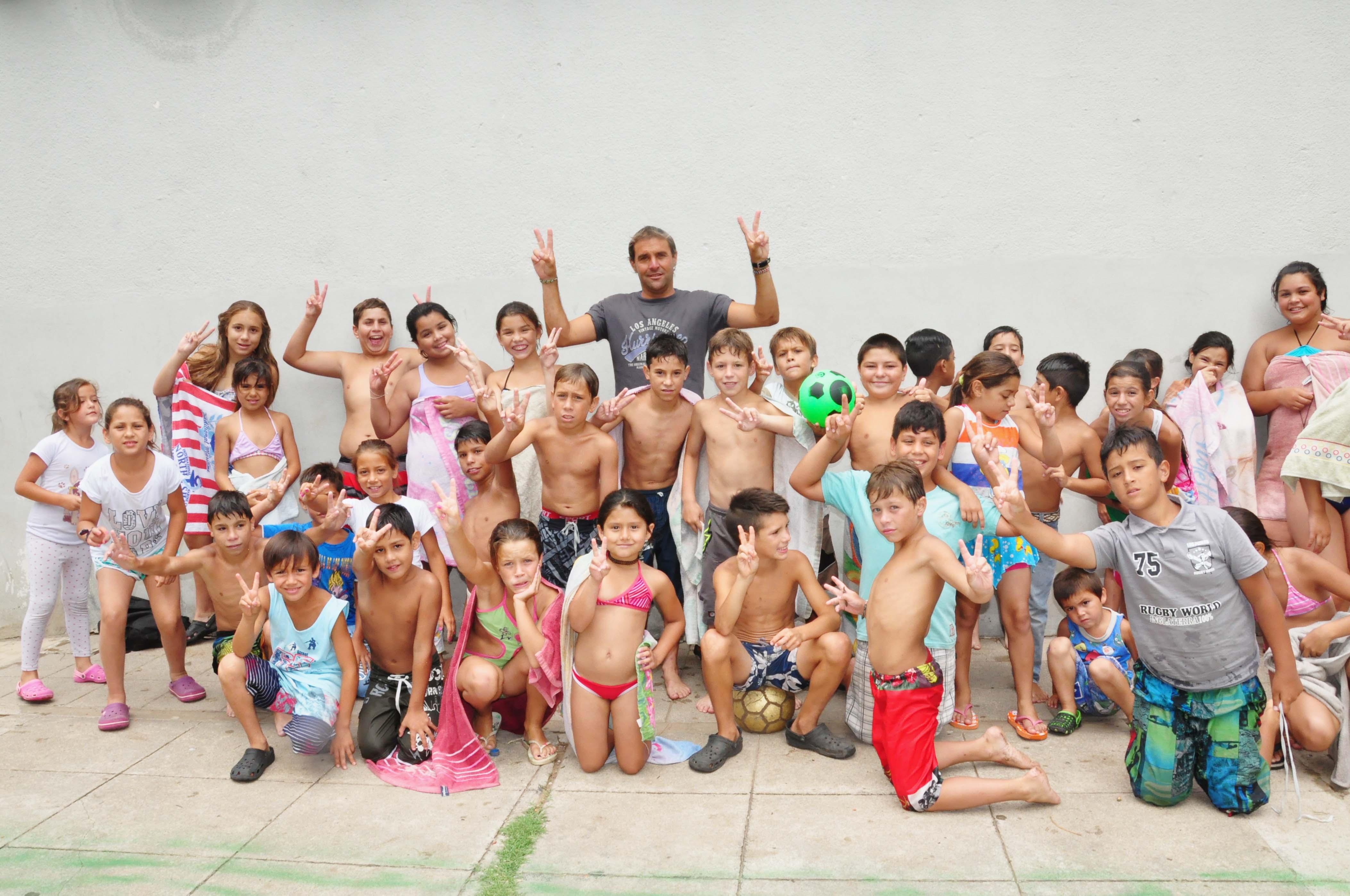 Inició la Colonia de Casa del Niño con 80 chicos