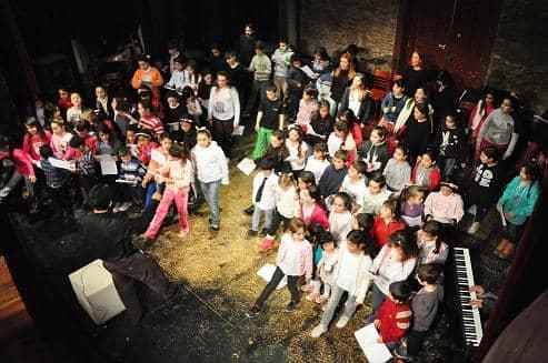 Muestra de la Escuela de Música