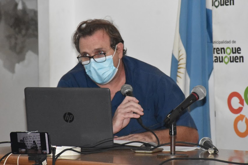 """DR. SERGIO VALENTE: """"HAY QUE APLANAR LA CURVA PARA QUE EL SISTEMA NO SE SATURE"""""""