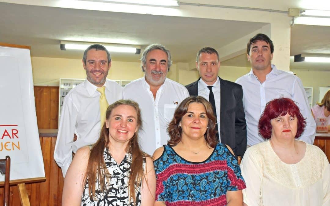 Fernández participó de la asunción de los nuevos consejeros escolares