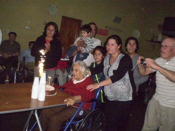 Festejos de cumpleaños en el Castella y Cumen Che