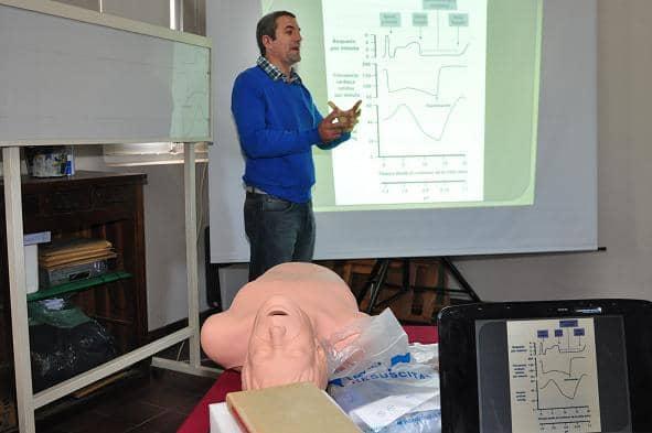 Se realiza un curso de RCP en el Hospital
