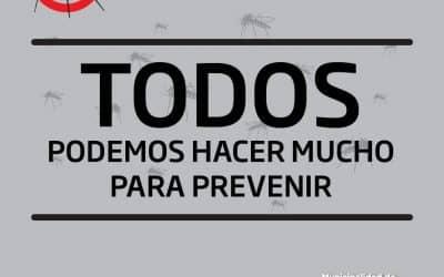 COMENZARON A TOMARSE MEDIDAS DE PREVENCION POR EL DENGUE