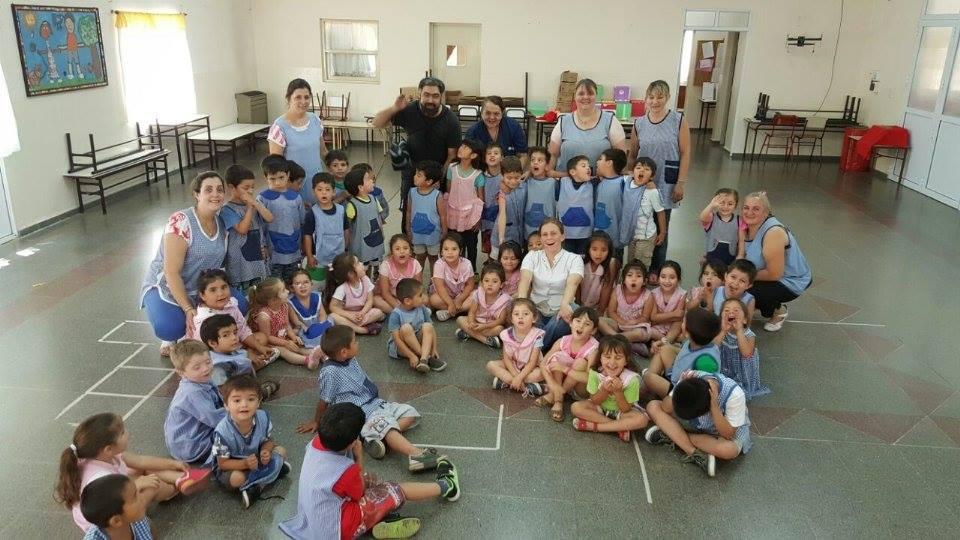 Los CAPS van a las escuelas y jardines para prevenir el Dengue