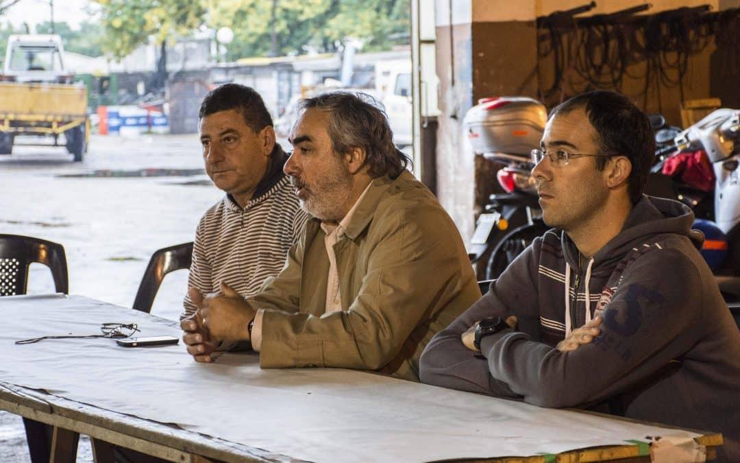 MARCELO LESCANO ES ELNUEVO DIRECTOR DE TALLER VIAL Y DE CAMINOS RURALES, Y FEDERICO GARCIA, DE HIGIENE URBANA Y ESPACIOS VERDES