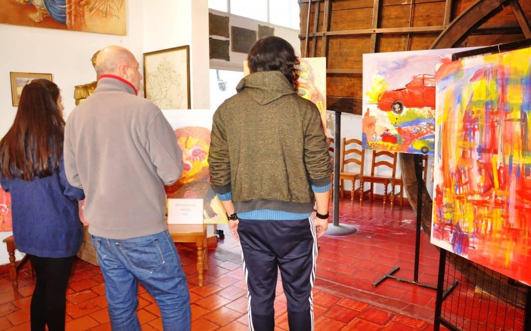 Juegos BA: Se realizó la etapa distrital de artes plásticas, dibujo, pintura y objeto tridimensional