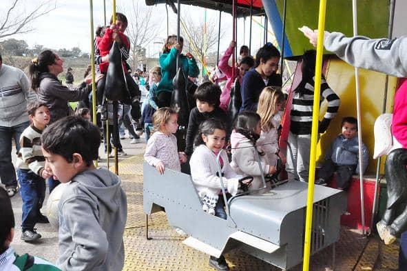 Miles de personas en los festejos del Día del Niño