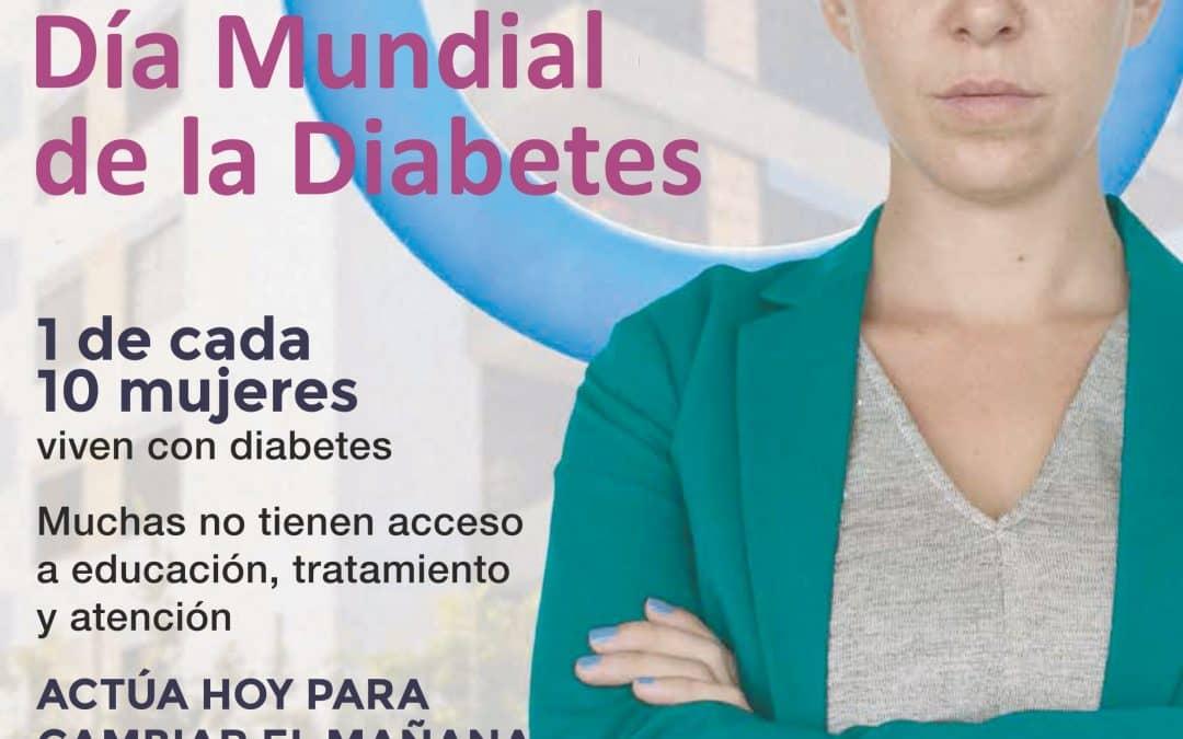 Organizan actividades por el Día Mundial de la Diabetes