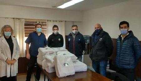 EL HOSPITAL MUNICIPAL ORELLANA RECIBIÓ UNA DONACIÓN DE 48 JUEGOS DE SÁBANAS DEL SINDICATO DE LUZ Y FUERZA