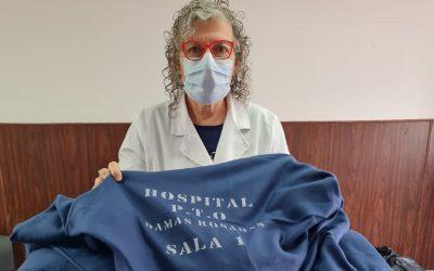 NUEVA DONACIÓN DE DAMAS ROSADAS AL HOSPITAL ORELLANA: FRAZADAS PARA LAS SALAS 4 Y 1, QUE FUERON ADQUIRIDAS CON EL APORTE SOLIDARIO DE VECINOS