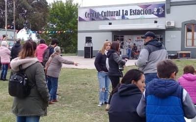 LA UNIDAD PRODUCTIVA HORTÌCOLA EL GANCHO ESTUVO DE FIESTA Y CELEBRÓ CON LA COMPAÑÍA DE LA COMUNIDAD DE BERUTTI