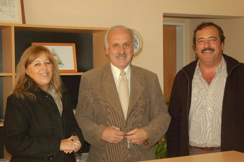 Feito visitó Garré y comprometió obras