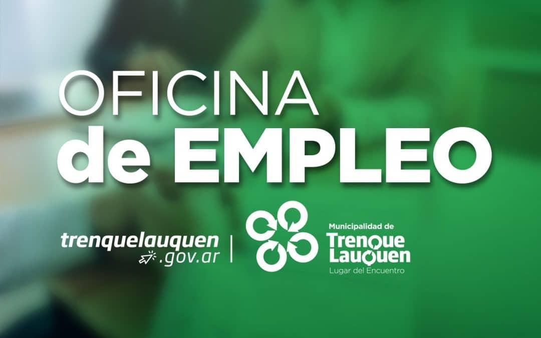 NUEVAS BÚSQUEDAS LABORALES DISPONIBLES EN LA OFICINA DE EMPLEO