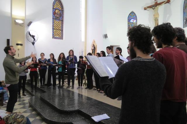30 de Agosto: Se realizó un encuentro de Coros Juveniles