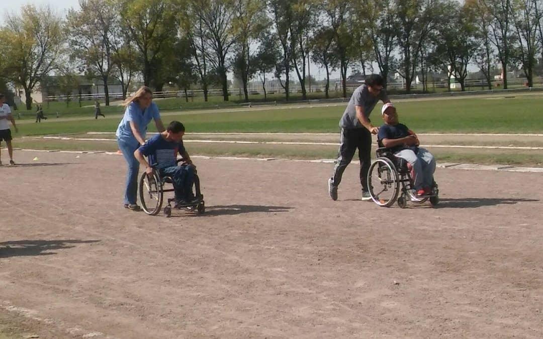 La Escuela Municipal para personas con discapacidad de atletismo y boccia participó de una jornada recreativa
