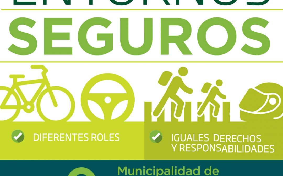 """El Municipio lanza la campaña de Educación Vial """"Entornos seguros"""""""