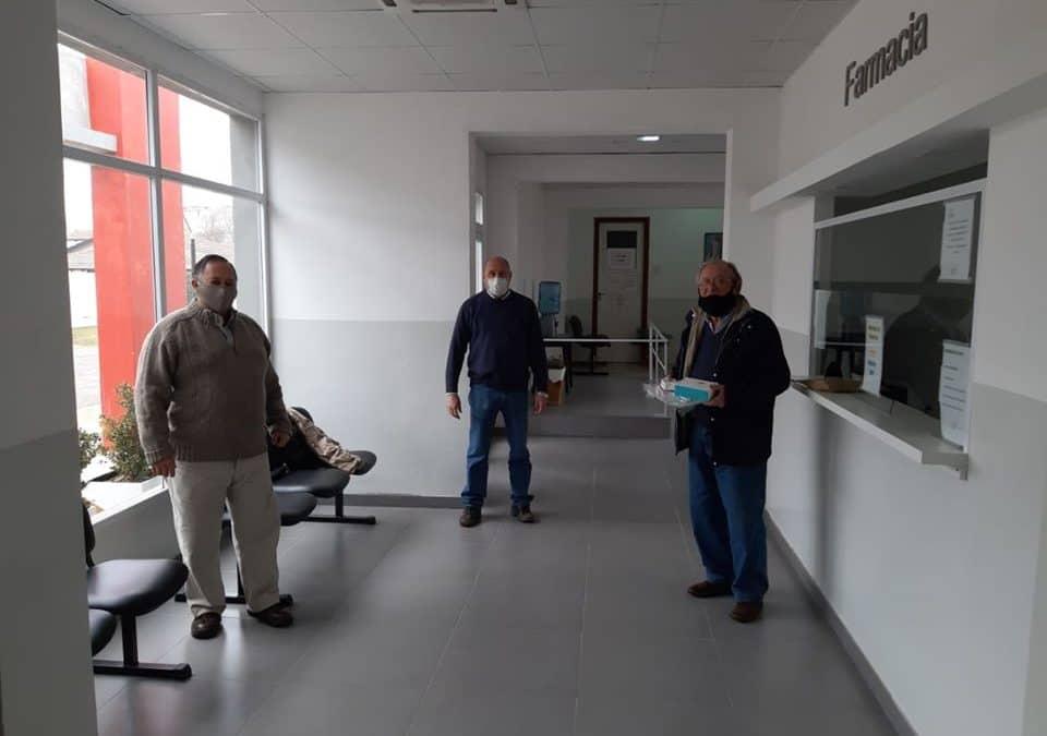 EL HOSPITAL EGUIGUREN RECIBIÓ UNA DONACIÓN DE EQUIPAMIENTO DE ROTARY 30 DE AGOSTO