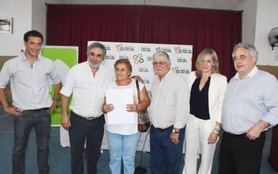 ESTE JUEVES (29) SE REALIZARÁ UN ACTO DE FIRMA Y ENTREGA DE ESCRITURAS