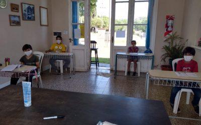 VUELVEN LAS CLASES PRESENCIALES EN LA ESCUELA MUNICIPAL DE GIRODÍAS PARA LOS TALLERES ANUALES Y EL PROGRAMA CLASES DE APOYO