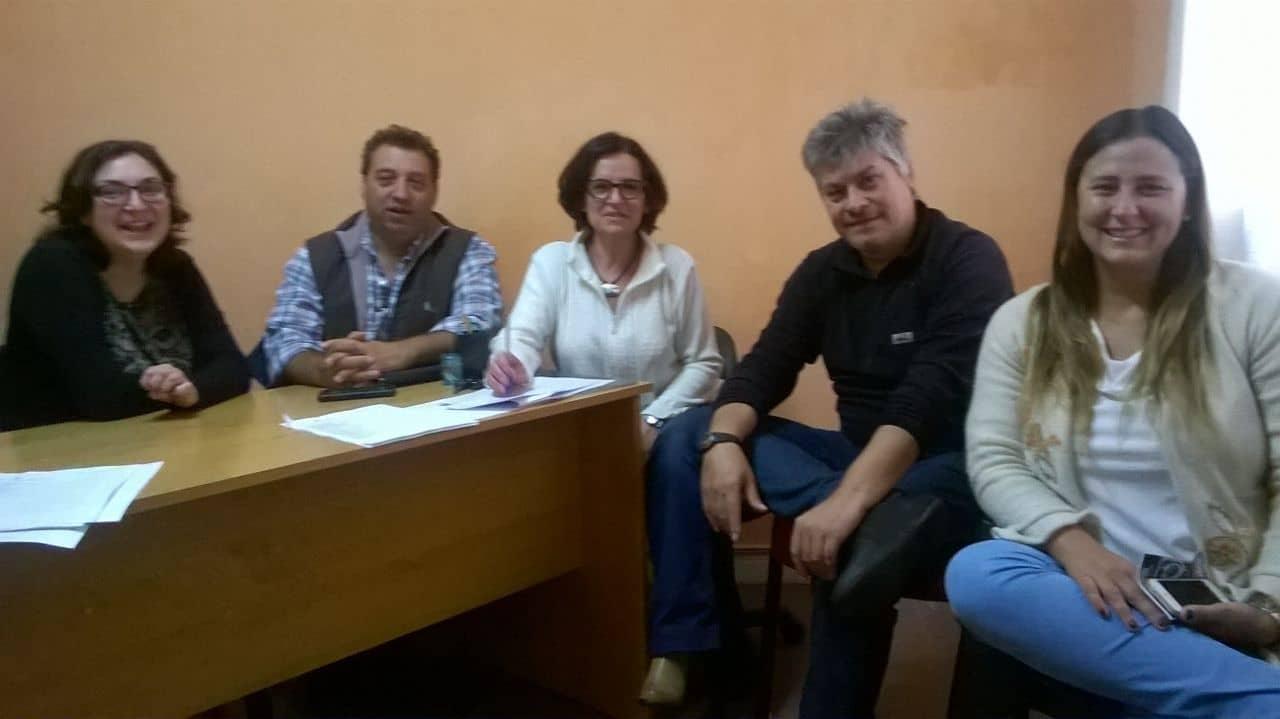 Funcionarios municipales se reunieron con el CDR de Desarrollo Social
