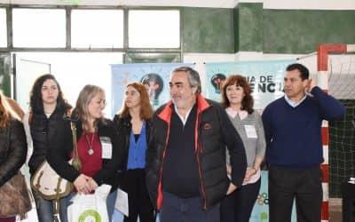 Fernández participó de la apertura de la Feria de Ciencias Regional