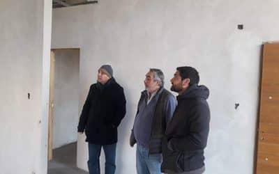 AVANZA LA CONSTRUCCIÓN DE LA PRIMERA TANDA DE 20 CASAS SOCIALES PARA SU ENTREGA DURANTE EL MES DE SEPTIEMBRE