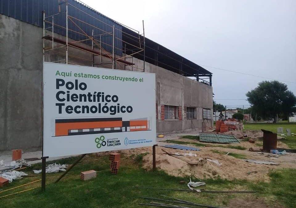 AVANZA LA CONSTRUCCION DEL POLO CIENTIFICO TECNOLOGICO EN EL PREDIO DE LA EX SERENISIMA
