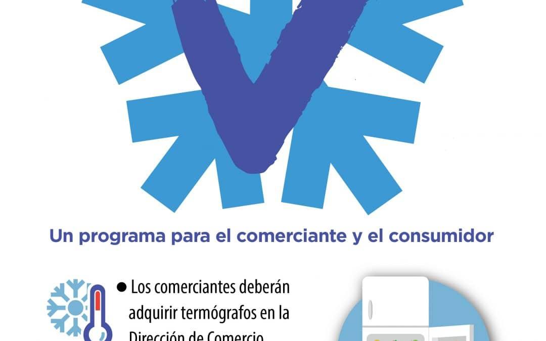 Frío Seguro: los comercios que vendan alimentos perecederos deberán instalar termógrafos