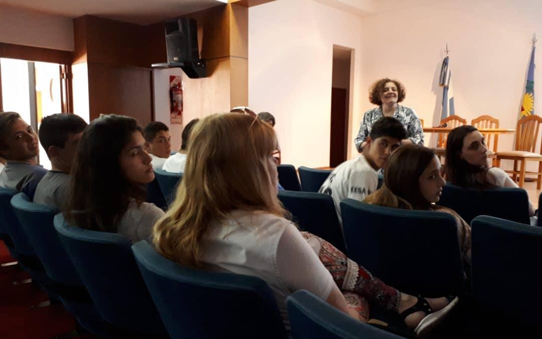 Se realizó un taller de coaching para los participantes del G20