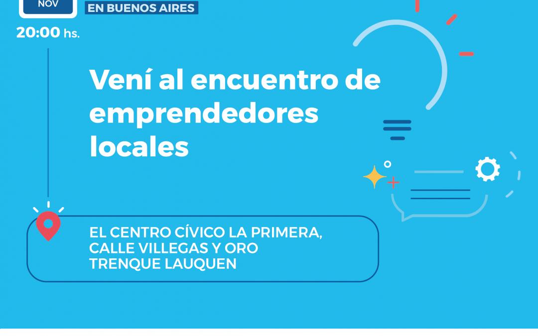 Encuentro de Emprendedores locales