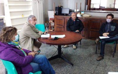 EL INTENDENTE FERNÁNDEZ COMPARTIÓ UNA REUNIÓN DE GABINETE EN BERUTI Y JUNTO AL DELEGADO AVANZARON SOBRE TAREAS A REALIZARSE