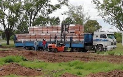 LA CONSTRUCCION DEL NUEVO GERIATRICO DE BERUTI EMPIEZA A TOMAR FORMA