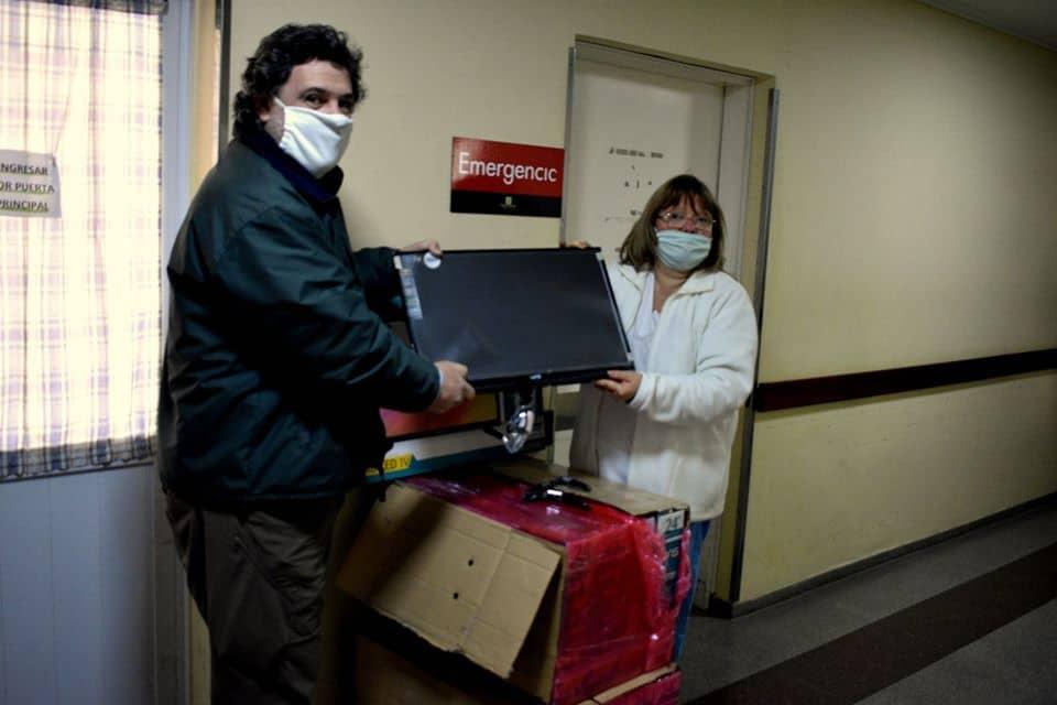 LA FUNDACIÓN GESTOS DONÓ 10 TELEVISORES AL HOSPITAL DE TREINTA DE AGOSTO: SE DESTINARÁN A LAS HABITACIONES DEL SECTOR DE INTERNACIÓN