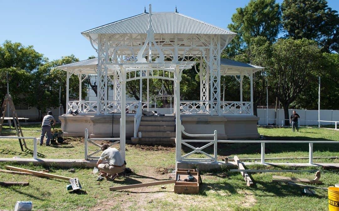 Este miércoles se inaugurará la glorieta del Jardín Nº 901