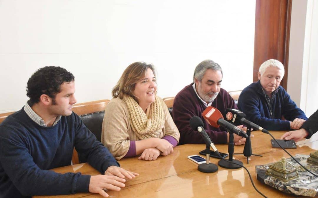 Hinojo: inició la primera etapa de trabajo para la expropiación de las parcelas afectadas
