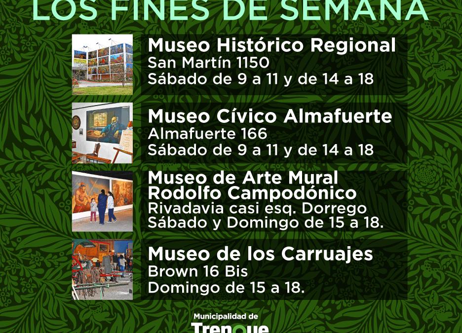 EL MUSEO DE ARTE MURAL ABRE EL FIN DE SEMANA CON HORARIO AMPLIADO Y EL MUSEO DE LOS CARRUAJES SE SUMA EL DOMINGO
