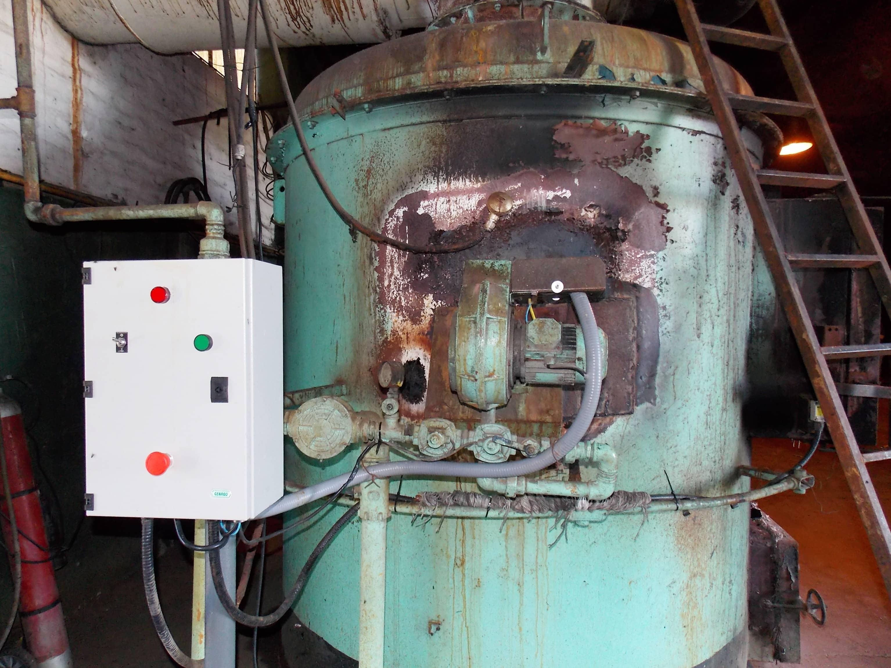 Reparación de un horno pirolítico