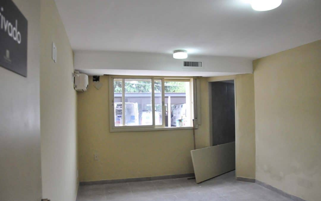 Refacciones, reparaciones y mantenimiento en el Hospital Orellana