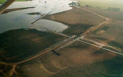 El Municipio le reclamó a Hidráulica por una intervención al límite con Daireaux