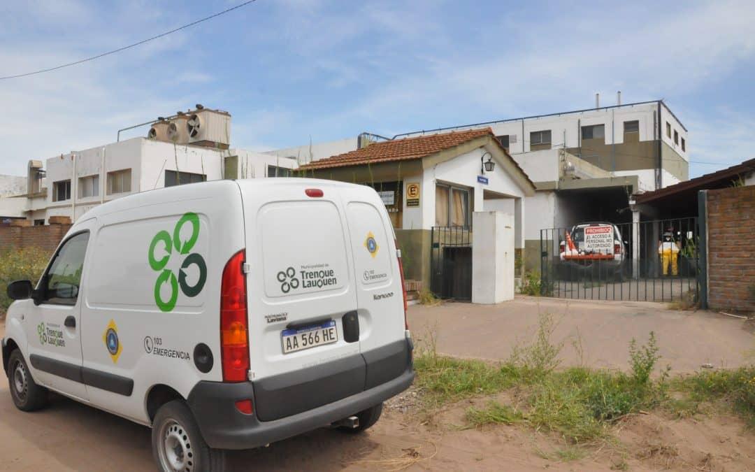 Policía Ambiental de la provincia realiza un operativo sobre el inmueble del ex frigorífico Indio Pampa